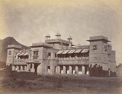 Oodeypore State Boarding House [Mayo College, Ajmer], built under the supervision of Col. J.M. Williams.